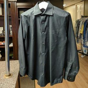 Black Banana Republic Button-down Dress Shirt